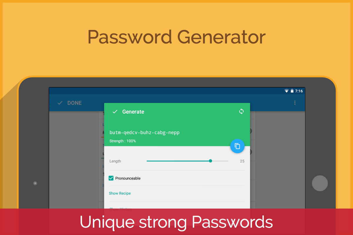 Enpass Password Manager- screenshot