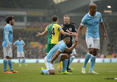 PL : Kompany et City trébuchent à Norwich