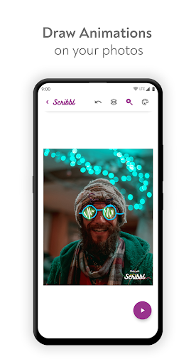 Scribbl - Scribble Animation Effect For Your Pics 1.4 screenshots 1