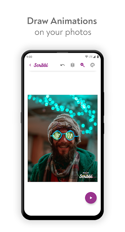 Scribbl - Scribble Animation Effect For Your Pics - App - Mi