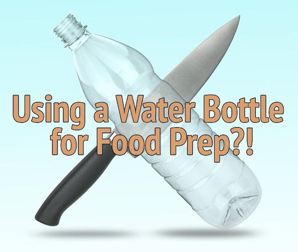 I Bet You Didn't Know You Could Use a Water Bottle for This... 7 Time-Saving Kitchen Tips