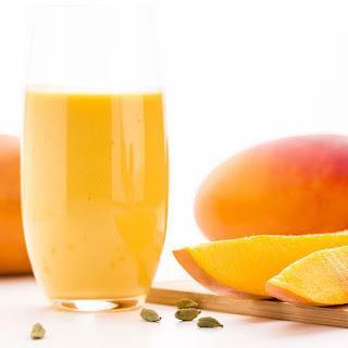Tropical Mango Protein Shake.