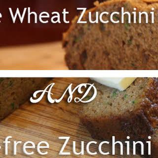 """Homemade """"Healthier"""" Zucchini Bread."""