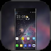 Theme for Vivo X21 Space galaxy XS wallpaper icon