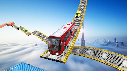 Impossible Bus Tracks Stunts Coach Driving Sim 1.0 screenshots 1