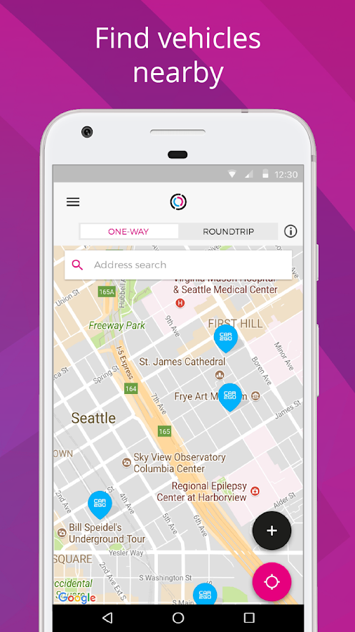 Free2Move - The Carsharing App- screenshot