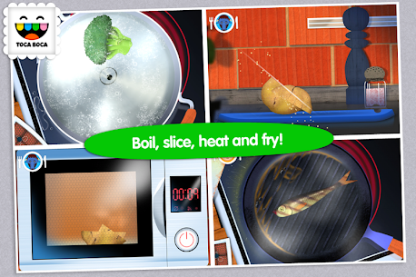 Toca Kitchen 1.1.7-play Mod + Data for Android 3