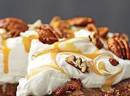 MASCARPONE FROSTING: Stir mascarpone cheese, powdered sugar and vanilla in a medium bowl just until...