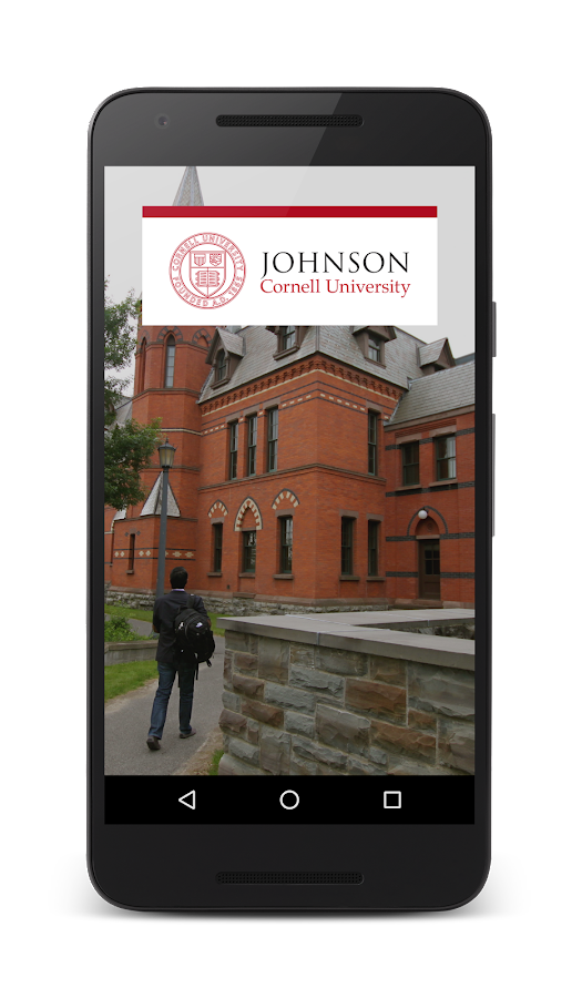 Johnson at Cornell University- screenshot