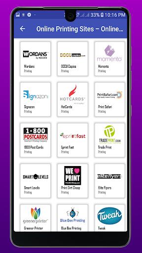 Online Printing Sites - Online Print Store screenshot 2