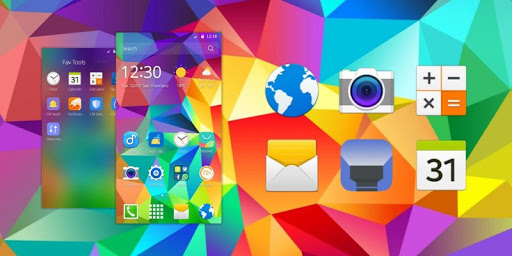 Colorful Abstract Theme