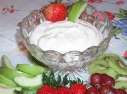 Devonshire Cream Fruit Dip Recipe