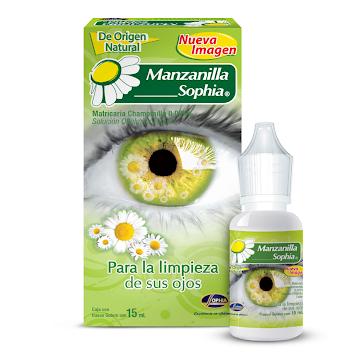 MANZANILLA SOPHIA SOL   OFT FRASCO X15ML SOPHIA MATRICARIA CHAMOMILLA