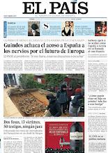 Photo: Guindos achaca el acoso a España a los nervios por el futuro de Europa; Sarkozy apela a no acabar como España o Grecia en su llamada al voto francés; Dos fosas, 13 víctimas, 50 testigos, ningún juez, entre los temas de nuestra portada del viernes, 6 de abril de 2012. http://srv00.epimg.net/pdf/elpais/1aPagina/2012/04/ep-20120406.pdf
