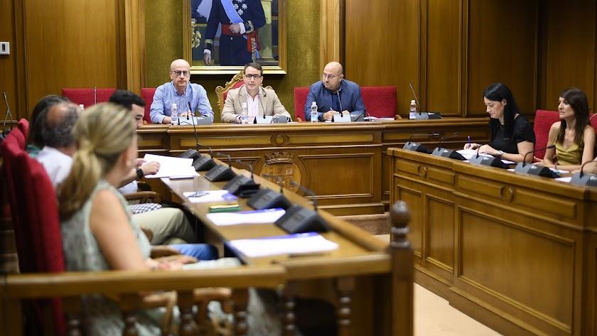 Reunión del Consejo de Turismo de Diputación.