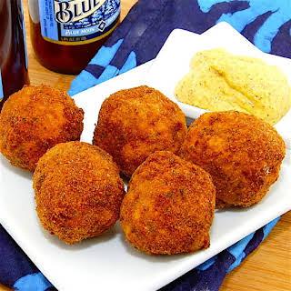 The Hirshon Akron Deep-Fried Sauerkraut Balls.
