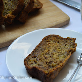 Easy Moist and Dense Banana Bread Recipe