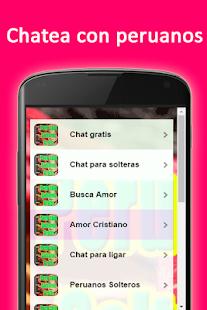 Peru Chat solteros gratis - náhled