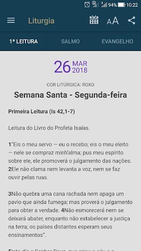 Liturgia Diária - Canção Nova 3.0.2 screenshots 1