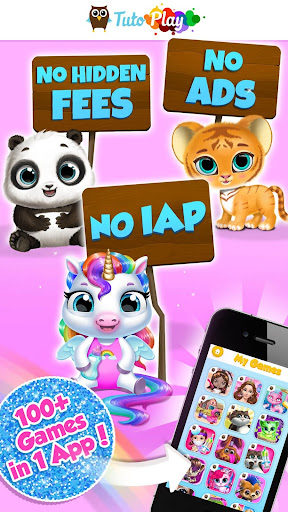 TutoPLAY - 100 Best Kids Games in 1 App 3.4.43 DreamHackers 1