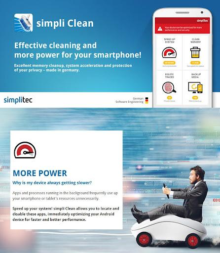 simpli Clean Mobile  - BOOSTER & CLEANER 1.5.0.190 screenshots 1