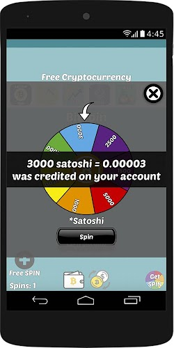 Free Bitcoin Spins -