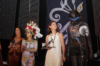 Photo: Face and Body Art International Convention. Artist Paola Gallardo from http://www.BestPartyPlanner.net Body Painting Model Andrew Sutton