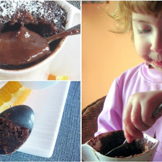 Molten Chocolate Mini-cake - pressure cooker