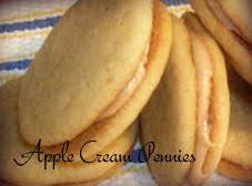 Apple Cream Pennies Recipe