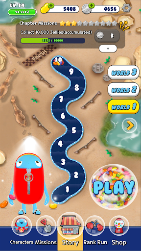 ZellyGo Dash - running game filehippodl screenshot 1