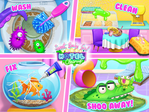 Sweet Baby Girl Hotel Cleanup - Crazy Cleaning Fun 1.0.3 app download 21