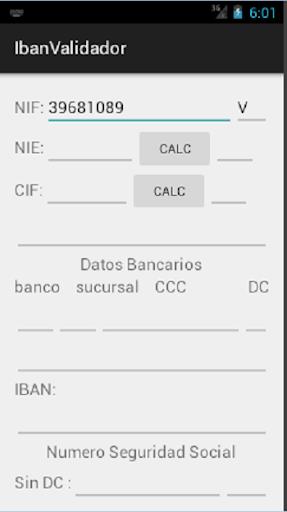 NIF_IBAN_Validador