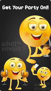 Download Party Emoji Sticker Keyboard For PC Windows and Mac apk screenshot 2