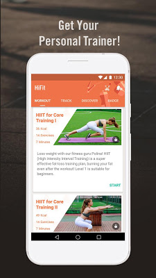 HiFit - 7 Minute Workout with No Equipment Needed - screenshot