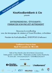 conférence/table ronde sur le crowdfunding à jouy-en-josas