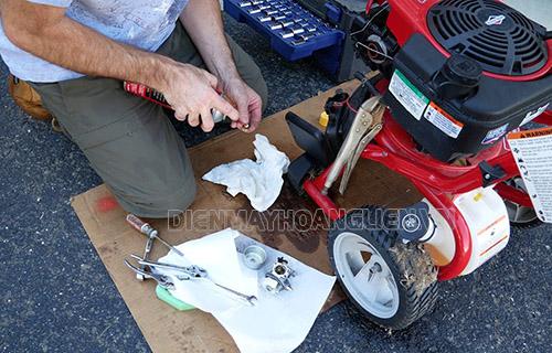lỗi thường gặp ở máy rửa xe và cách khắc phục