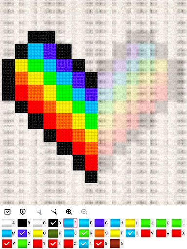 Color by Letter : Cross Stitch Joy 1.0.2 screenshots 7