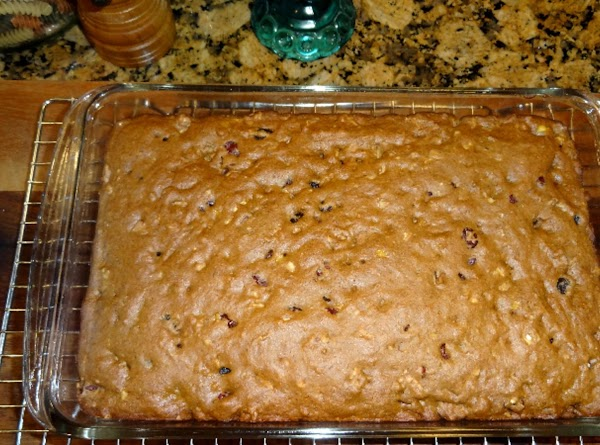 Bake in the pre-heated oven for about 30 minutes. Test with a toothpick to...