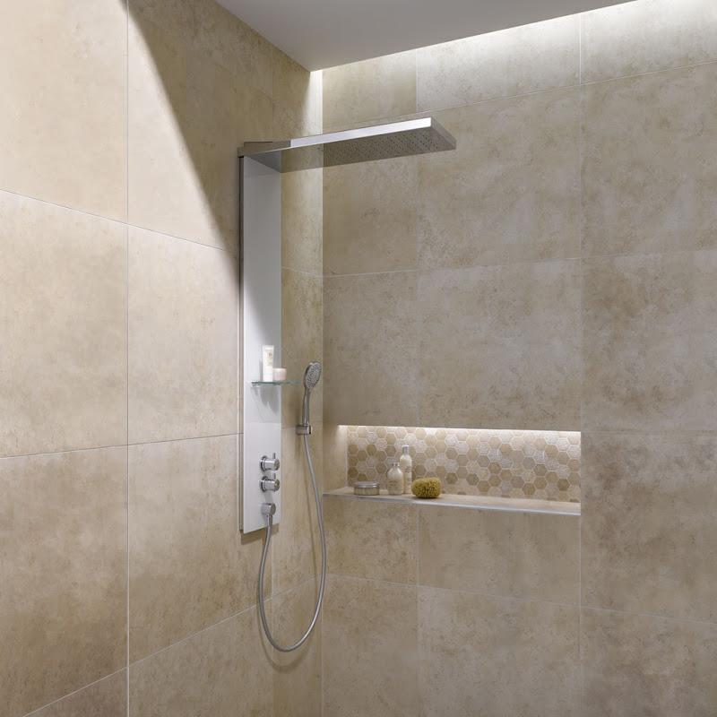 Moderner Look bei maximalem Duschkomfort