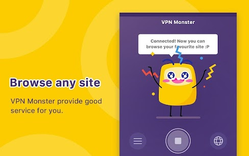 Unlimited Free VPN Monster - Fast Secure VPN Proxy v1 2 5 [VIP] APK