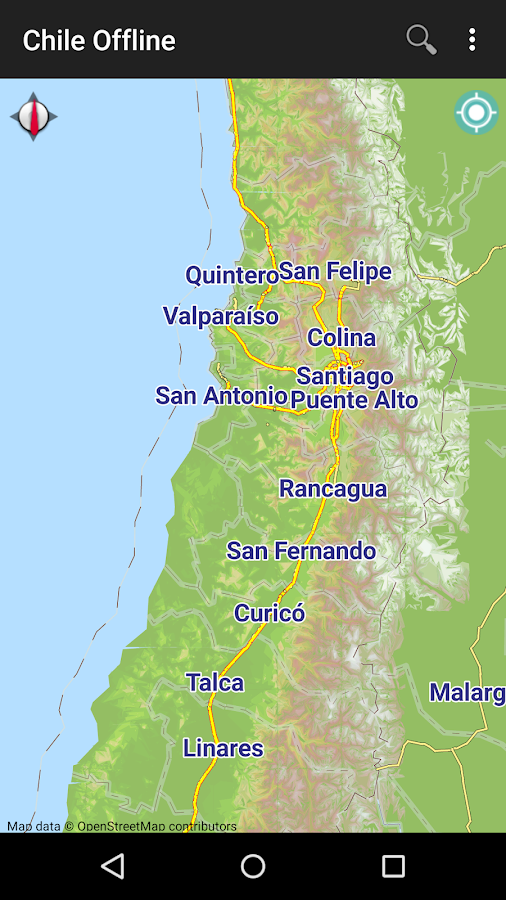 Chile Offline Map Android Apps On Google Play - Chile map