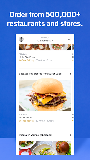 Postmates - Local Restaurant Delivery & Takeout screenshots 4