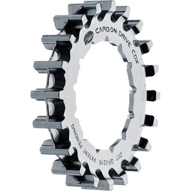 Gates CDX:EXP Rear Sprocket for Rohloff Splined - 20t, Silver