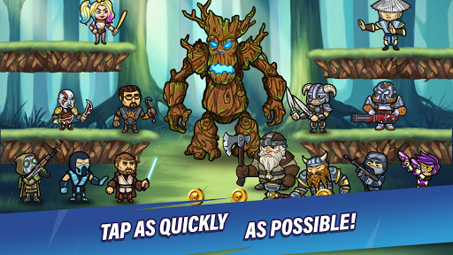 Taptic Heroesuff0dIdle Tap Adventure,RPG clicker games android2mod screenshots 1