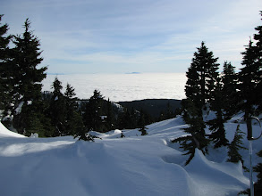 Photo: Cypress Mountain with fog