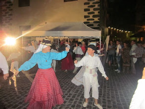 Photo: Bailes canarios en el Puerto dela Cruz