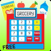 Kids Cash Register Grocery - Shopping Cashier Game