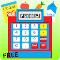 Kids Cash Register Grocery icon