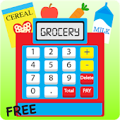 Kids Cash Register Grocery