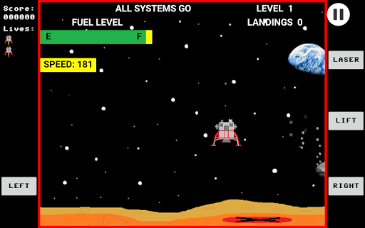 Space Lander  screenshots 1